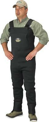 Caddis CA5902W-MS 3.5mm Neoprene Stockingfoot Chest Wader Size MS Forest Green
