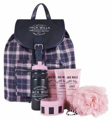 Jack Wills Ladies Rucksack & accessories NOW WITH FREE GIFT JW lip gloss