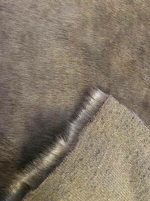 Fat 1/4 Taupe Double Tipped Faux Fur
