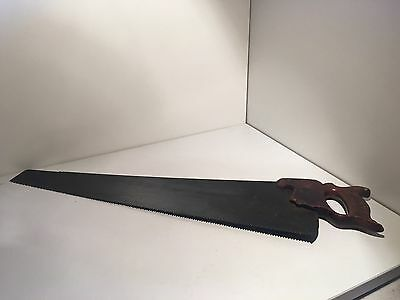 Vintage Old DISSTON Warranted Superior Hand Saw Collectable Man Cave
