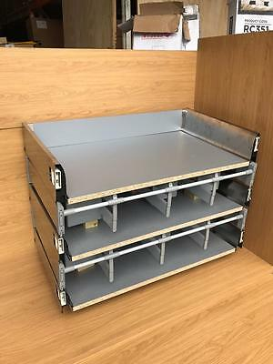 Cooke & Lewis SOFT CLOSE KITCHEN DRAWER BOXES PRE BUILT Lay on Sizes 300 to 800