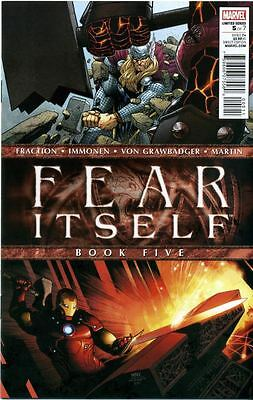 Fear Itself Comic by Marvel Comics - October 2011 issue 5 of 7
