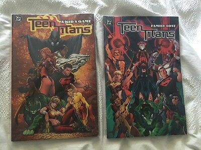 Teen Titans: Vol 1 - A Kids Game & Vol 2 - Family Lost: Geoff Johns