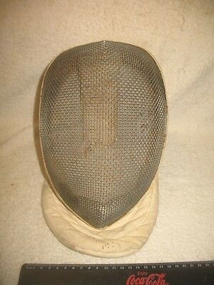 Vintage Fencing Mask Leon Paul Sword Fighting Colletcible