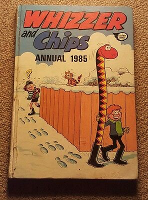 Whizzer and Chips Annual 1985