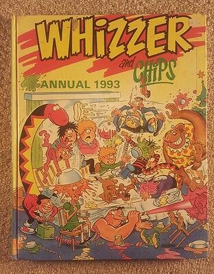 Whizzer and Chips Annual 1993