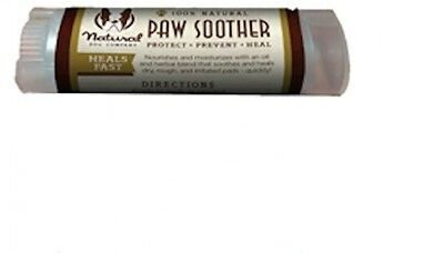 Paw Soother Organic Natural Heals Dry Cracked Paws Dog Pet Effective Treatment