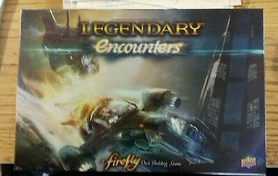 Legendary Encounters Firefly. Deck Building Game. Brand New Unopened.