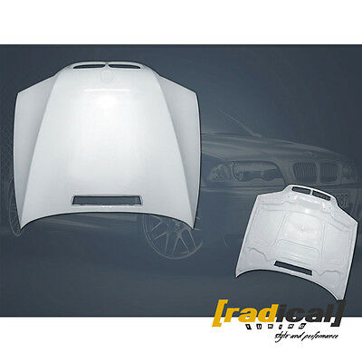 BMW E46 Coupe 99-03 pre-facelift and M3  - Lightweight FRP M3 Type Bonnet