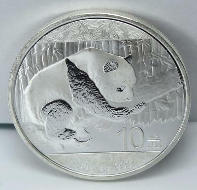 1¢ Auction NIce 2016 Fine .999 Silver Panda 1 OZ Coin $2.99S/H