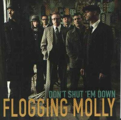 Flogging Molly Don't Shut 'em Down New 7 Inch Vinyl Record Free Uk Delivery