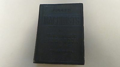 audels machinists and tool makers handy book 1941