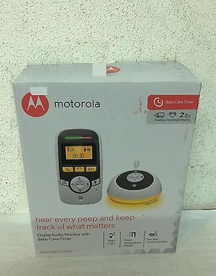 Motorola Digital Audio Monitor with Baby Care Timer Model MBP161 (Ex-display)