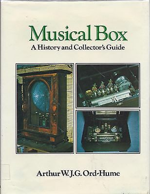 Musical Box, A History & Collectors Guide. Ord- Hume. 1980 1st Ed Hardback