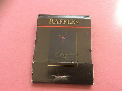 Raffles Vintage Bryant And Mays Book matches Matchbook