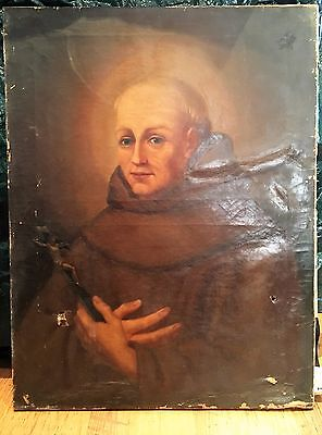 OIL PAINTING LARGE EARLY 19th Century  (Needs Minor restoration Work)  on canvas