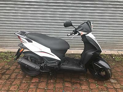 Kymco Agility 125, 2012, White, 12 months MOT, Delivery, Finance.
