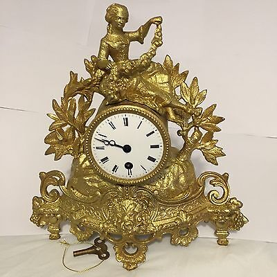 antique french mantel clock