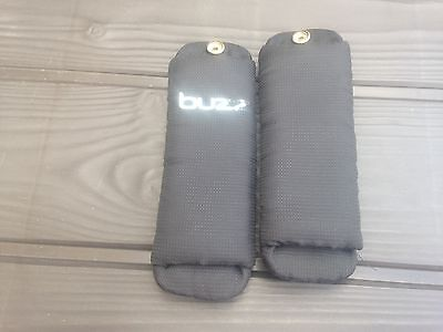 Quinny Buzz Black Strap Covers Chest Pads
