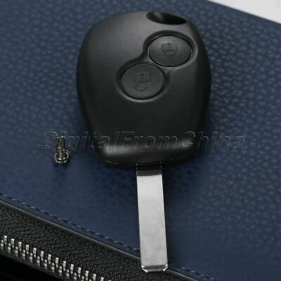 For Renault Modus Clio 3 Twingo Kangoo 2 Button Remote Key Shell Case Cover