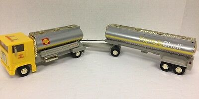 """Shell OIL 1995 """"Formula Shell"""" Concept Tanker Truck 3rd in Series VGC GOLD Ver"""