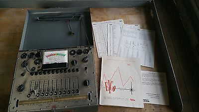 EICO 666 DYNAMIC CONDUCTANCE Radio/Amp TUBE, TRANSISTOR TESTER with MANUAL
