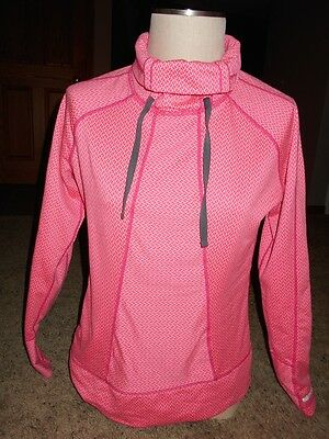 Avalanche Women's Pink Print Pullover Sweathshirt Size L