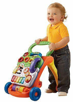 Baby Walker Assistant Harness Learn Toy Infant Push Steps Practice Play Activity