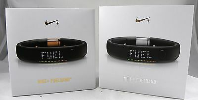 New, Nike + Fuelband Second Edition Fitness Bluetooth Tracker Band GOLD SILVER