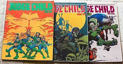 Judge Dredd The Judge Child Quest Books 1, 2, and 3 (2000ad), John Wagner