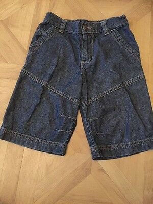 Boys Elastic  Waist Denim Shorts Next Age 7 Years