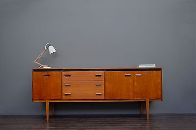 Rare Large Vintage Retro Mid Century Teak Sideboard with Drawers