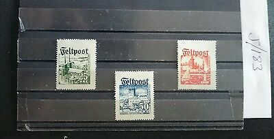 German Ww2 Stamps ,military Feldpost , 1939 /45