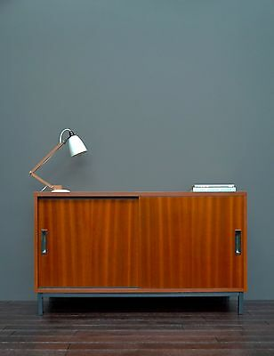Vintage Retro Mid Century Teak Sideboard Cabinet After Pierre Guariche