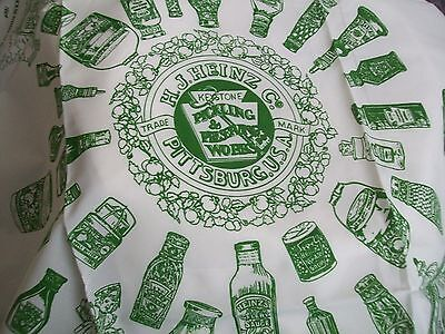 Vintage Heinz Advertising Collectable Ladies Scarf Pittsburg Usa