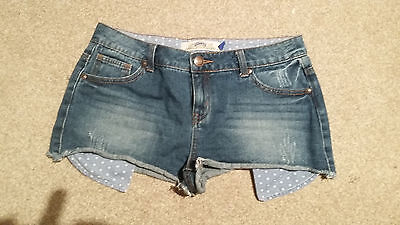 A Pair Of Girls New Look  Denim Shorts Age 14 Years