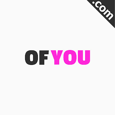 NO RESERVE: ofyou.com 5 Letter Brandable Catchy Domain Name for Sale - Bid Now!