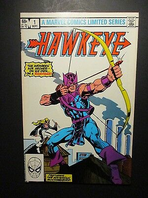 Marvel HAWKEYE # 1 FIRST ISSUE W / MOCKINGBIRD 1983 Vintage Old Comic Book