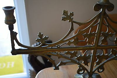 AESTHETIC MOVEMENT FRENCH CANDLE HOLDER HAND FORGED 1880s