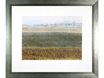'Country Landscape' by Margaret Murton, Mixed Media with Pastel, Original Art