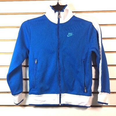 Vintage Nike Track Jacket Youth / Woman's Petite Size S / P / CH Full Zip NICE!