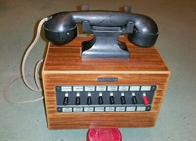 Vintage wall mounting Dictograph telephone