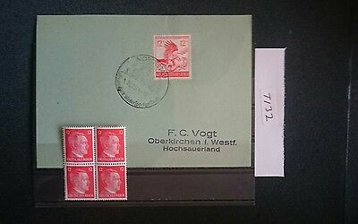 German Ww2 Stamps / Fdc Special Cancel , Original, 1939 /45