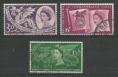 1958 Commonwealth Games Set Very Fine Used