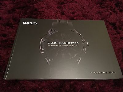 Casio Watch Catalogue 2017 - Baselworld 2017 Edition