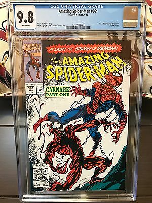 Amazing Spider-Man #361 - CGC 9.8 (1st full appearance CARNAGE)