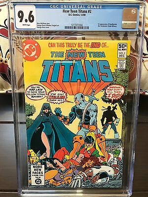 New Teen Titans #2 - CGC 9.6 (1st appearance of DEATHSTROKE)