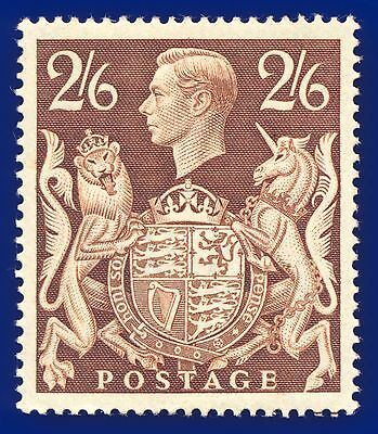 1939 SG476 2s6d Brown Q29 Mounted Mint, hinged, Cat (MNH) £95 acvy