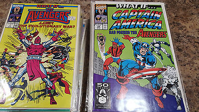 What If  (1980s) 56 Issues No Extras Spider-Man The Avengers Nice Grade