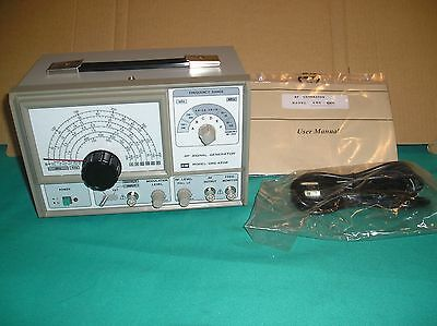 New Gw Instek Grg-450B Rf Signal Generator Ham Radio Test Equipment
